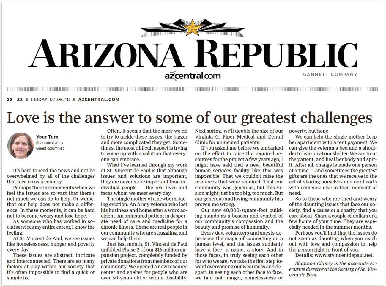 Shannon Clancy Arizona Republic Opinion