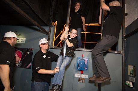 Austin Enters Batcave