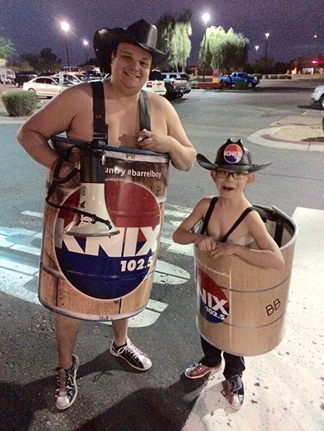 Barrel Boy and Barrel Buddy