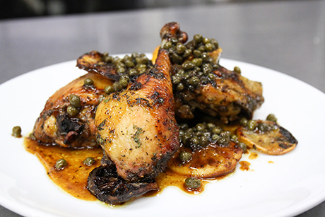 Farm to Fork: Chicken with citrus, herbs and capers