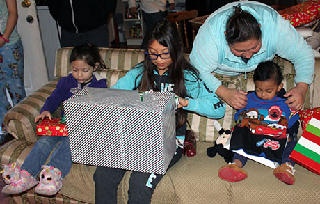 Adopt-a-Family Presents