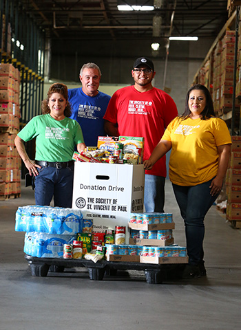Host a drive to support our food bank.