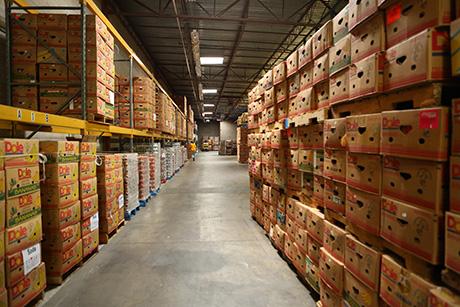 SVdP food warehouse