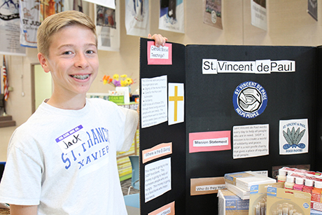 St. Francis Xavier student Jack Mills