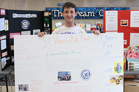 St. Francis Xavier student Johnny