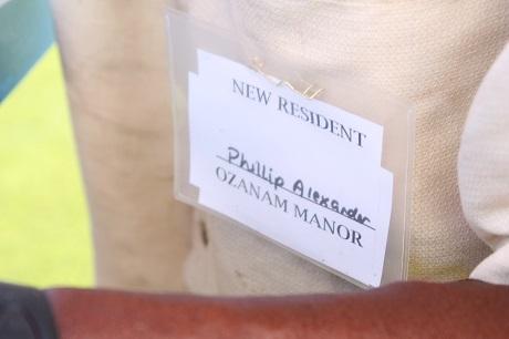 Ozanam Manor Resident Badge