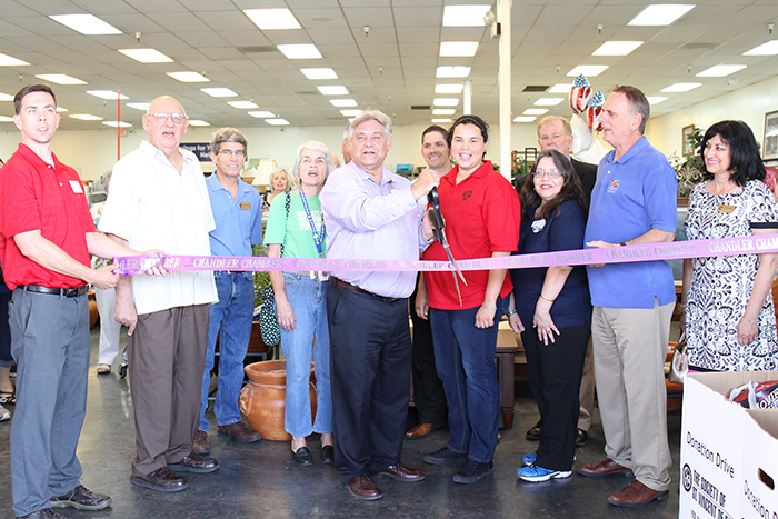 Chandler council members and Chandler Chamber of Commerce ambassadors helped St. Vincent de Paul celebrate its grand opening during a ribbon-cutting ceremony.