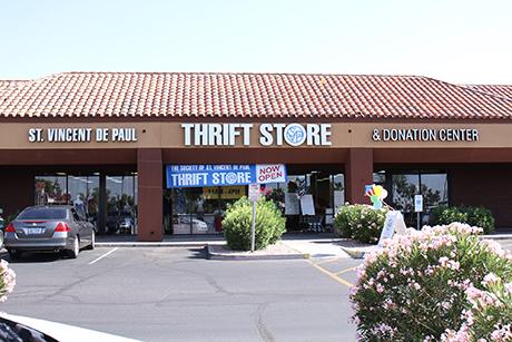 SVdP Chandler thrift store