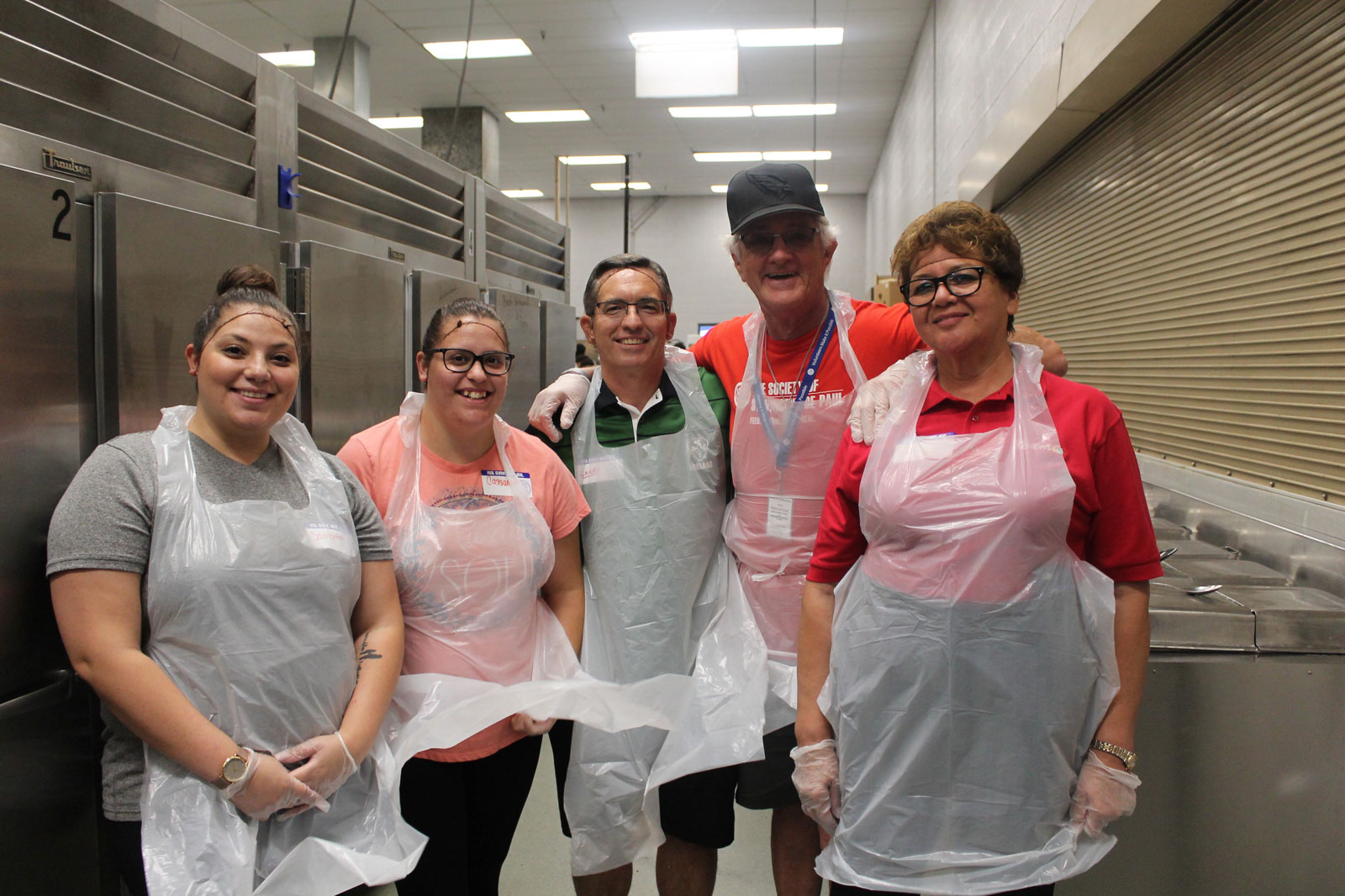St. Vincent de Paul volunteers