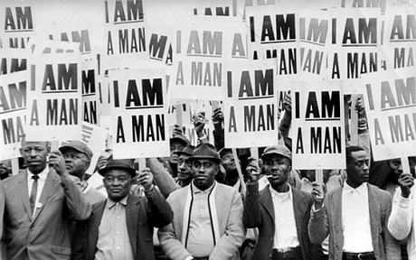 'I am a Man' Strike