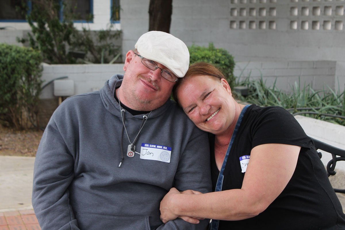 Jonathan Barker and Cheryl Pawloski