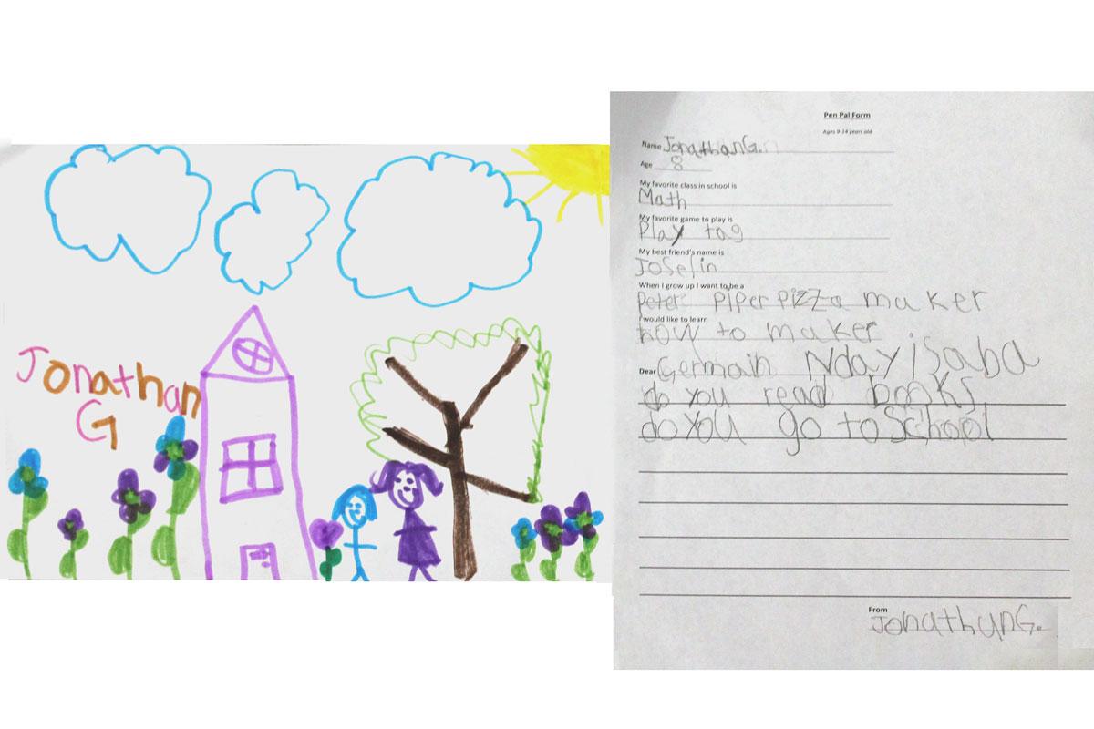 Jonathan's letter