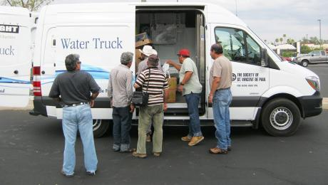 Street relief update from our Water Truck
