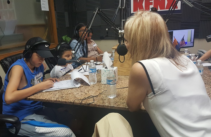 KFNX 1100 Young Reporter Program